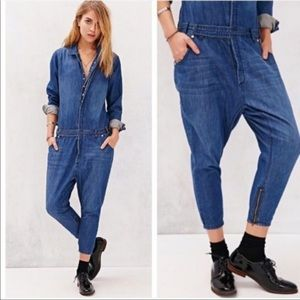 One Teaspoon jean jumpsuit for Urban Outfitters